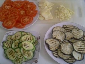 Tarta cu legume la gratar