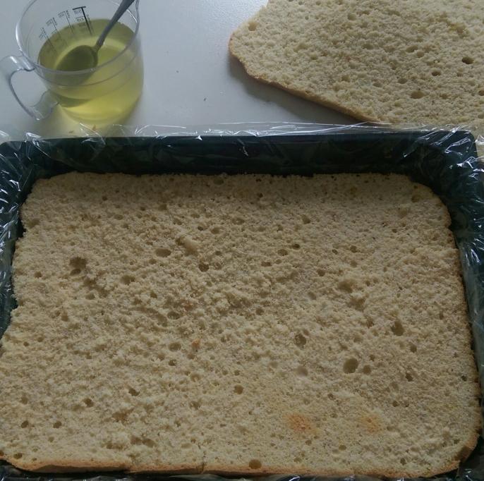 Prăjitură cu cremă de lămâie