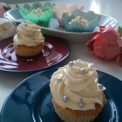 Cupcakes de vanilie