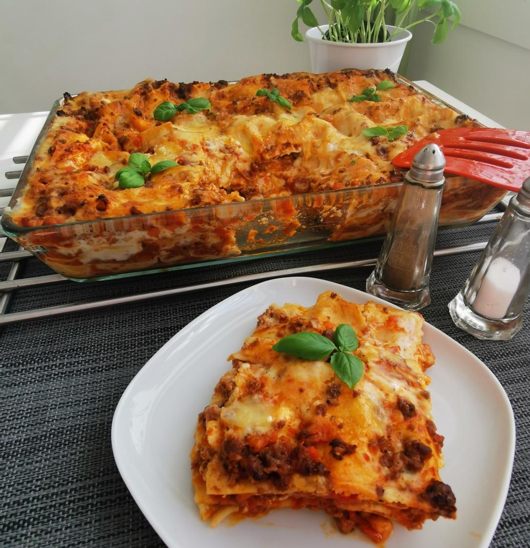 Lasagne cu carne