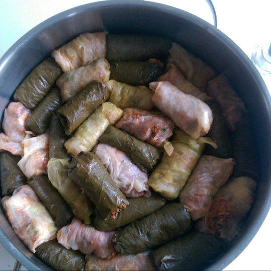 Sărmăluțele cu carne de pui