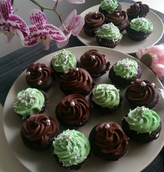 Mini cupcakes vegane