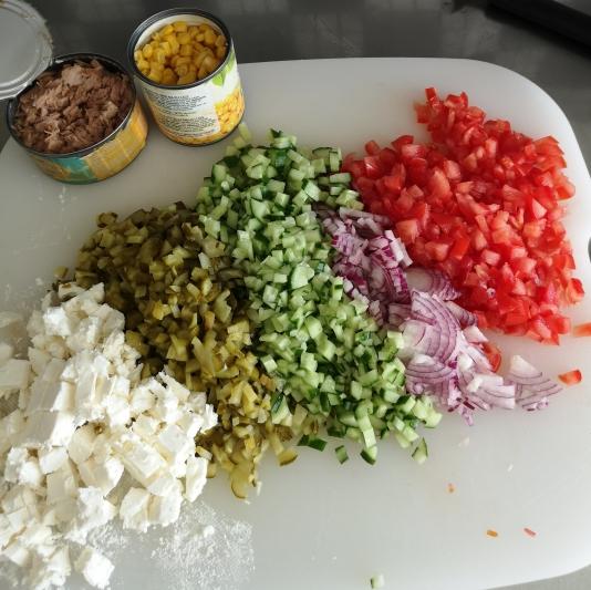 Salată de pasta