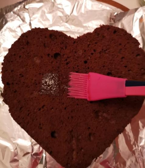Tort ❤️ de ciocolata cu cremă de mascarpone și fructe de pădure