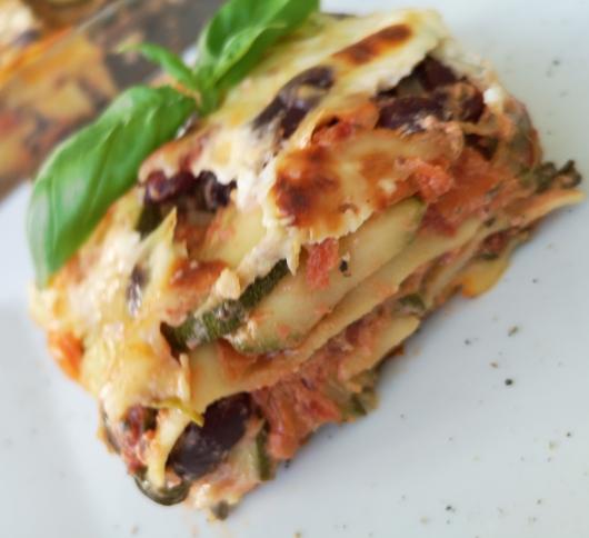 Lasagne vegetariană