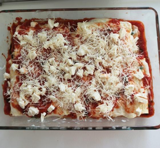 Cannelloni cu spanac și ricotta