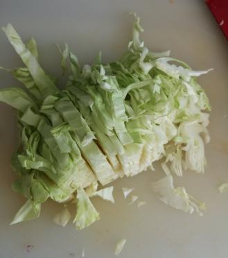 Noodles cu creveți si legume