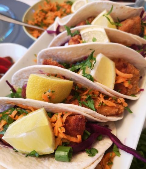 Tacos cu peste